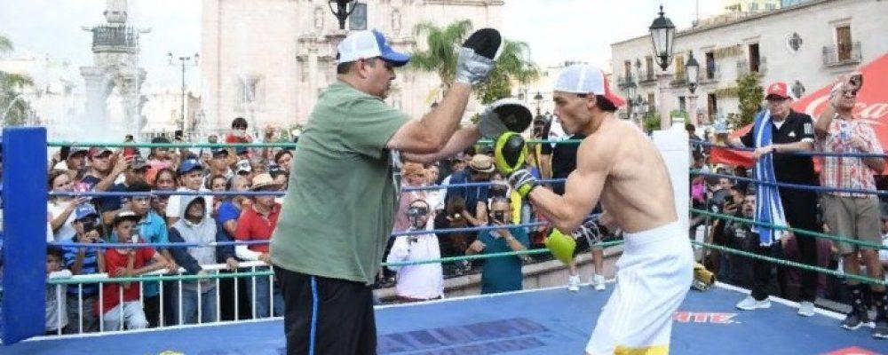 Прямая трансляция — бокс. Хулио Сезар Чавес-младший — Эверт Браво