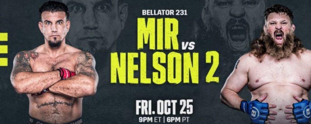 Прямая трансляция Bellator 231: Фрэнк Мир — Рой Нельсон 2