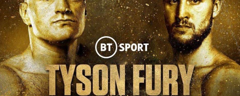 Прямая трансляция Тайсон Фьюри — Отто Валлин