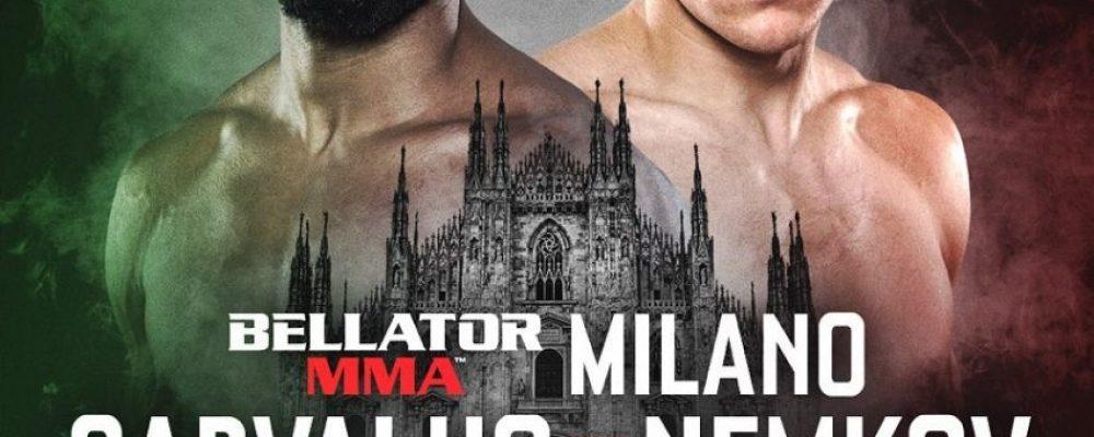 Прямая трансляция Bellator 230 и Bellator Milan: Рафаэль Карвальо — Вадим Немков