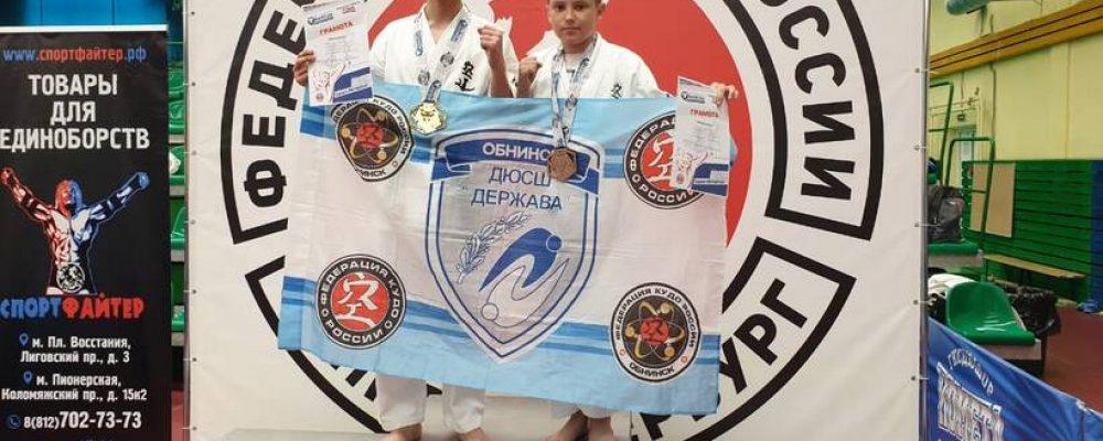 Обнинские кудоисты одержали победы на нескольких турнирах!
