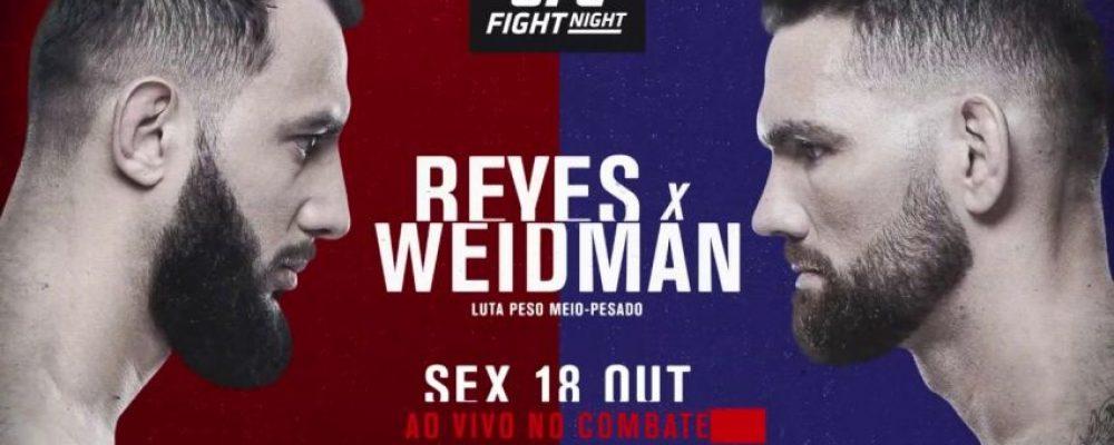 Прямая трансляция UFC on ESPN 6: Крис Вайдман — Доминик Рейес