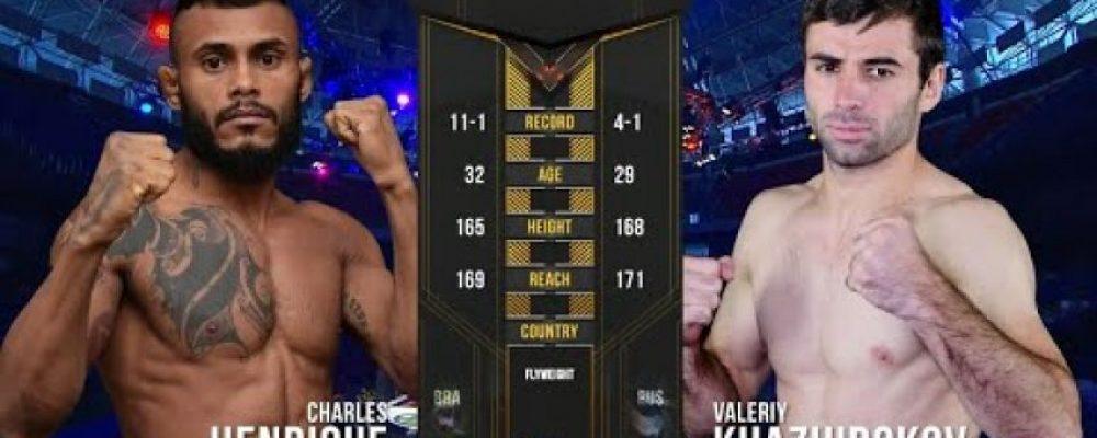 Видео боя Валерий Хажироков — Чарльз Энрике на ACA 98 — Fight Day