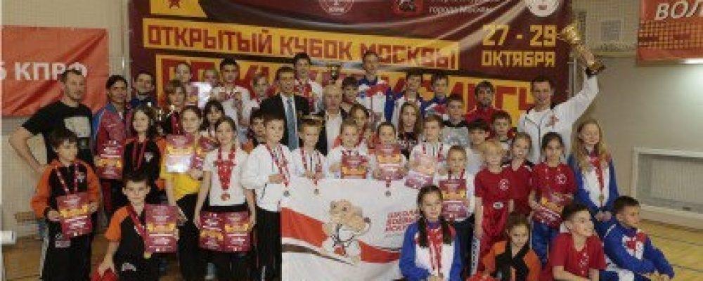 Открытый Кубок Москвы по кикбоксингу в разделах лайт-контакт и поинтфайтинг 2017