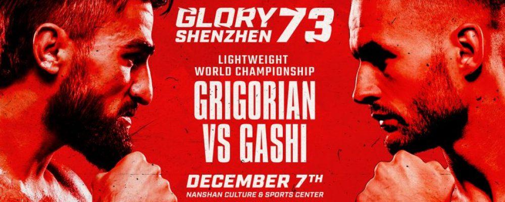 Прямая трансляция Glory 73: Марат Григорян – Элвис Гаши
