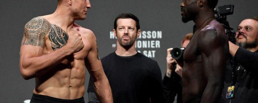 Видео боя Джек Херманссон — Джаред Каннонье UFC Fight Night 160