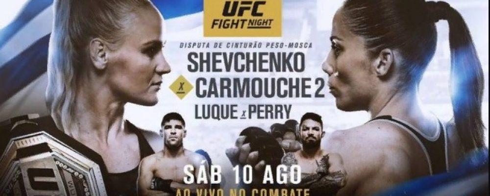 Результаты турнира UFC Fight Night 156: Шевченко — Кармуш