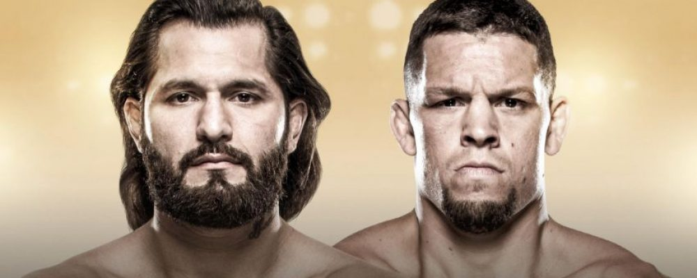 Прямая трансляция UFC 244: Хорхе Масвидаль — Нейт Диас