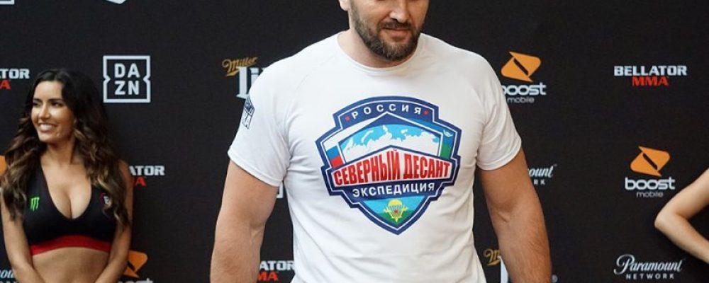 Видео боя Виталий Минаков — Тимоти Джонсон Bellator 225