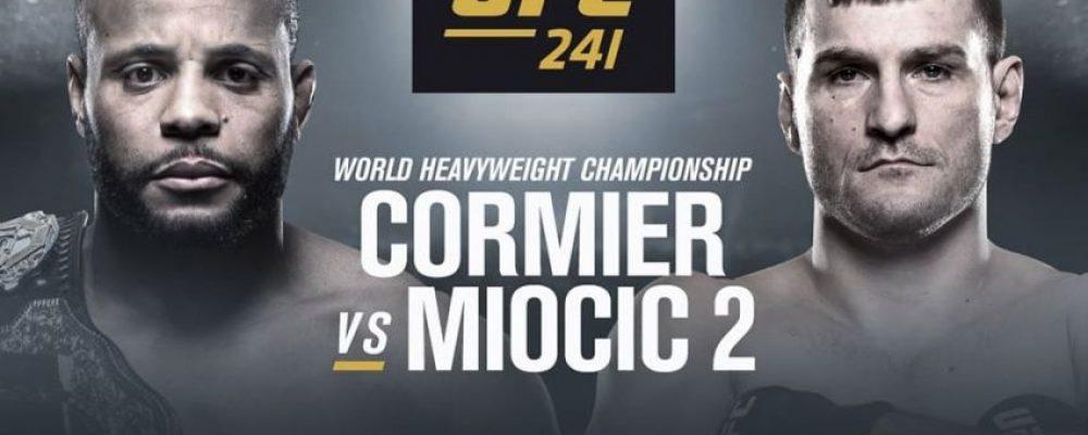 Прямая трансляция UFC 241: Даниэль Кормье — Стипе Миочич 2