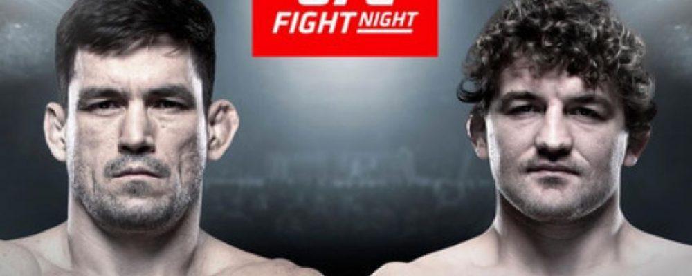Прямая трансляция UFC on ESPN+ 20: Бен Аскрен — Демиан Майя