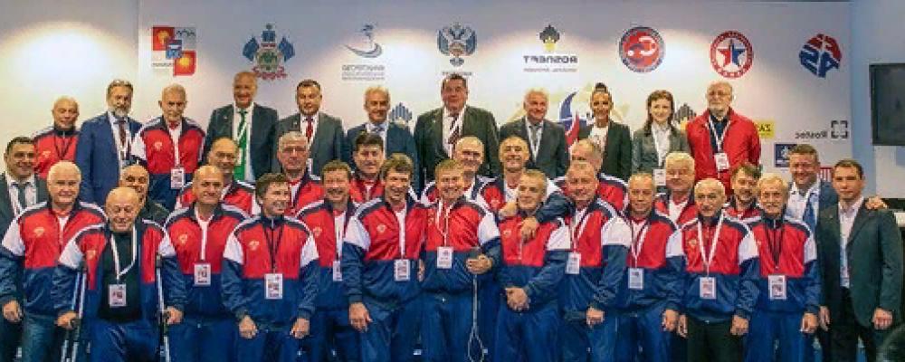Открытый городской турнир по Самбо среди Ветеранов 2018