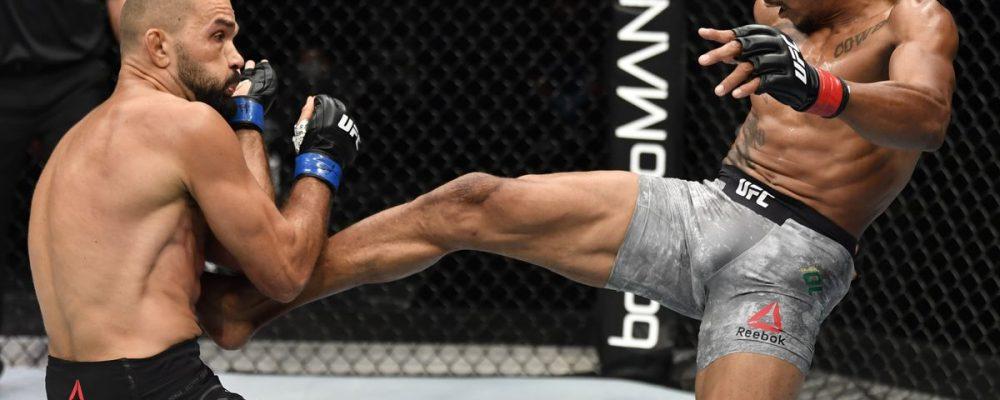 Видео боя Алекс Оливейра — Петер Соботта UFC on ESPN 14