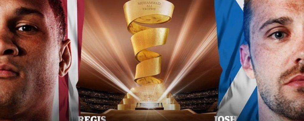 Прямая трансляция Реджис Прогре — Джош Тейлор — Финал WBSS