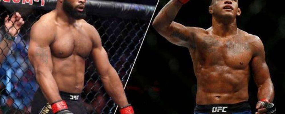 Прямая трансляция UFC on ESPN 9: Тайрон Вудли — Гилберт Бернс