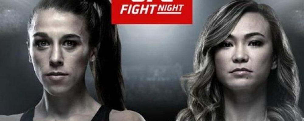 Прямая трансляция UFC on ESPN+ 19: Йоанна Енджейчик — Мишель Уотерсон