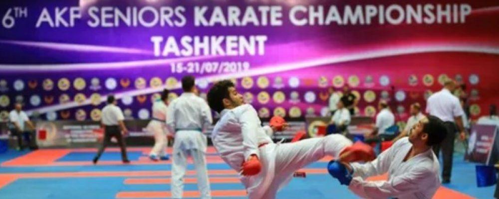 Результаты Чемпионата Азии по каратэ WKF 2019