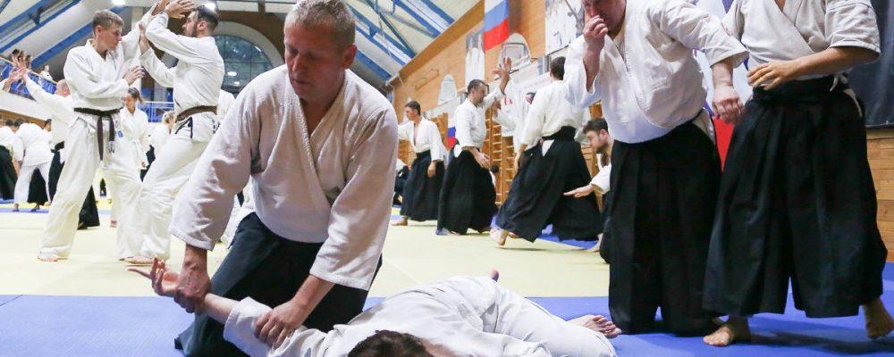 Международный семинар по Айкидо (Э.Кацурада, 6 дан, Сихан, Айкикай Япония)