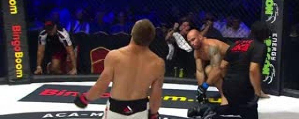 Видео боя Бруно Сантос — Вячеслав Бабкин на ACA 97
