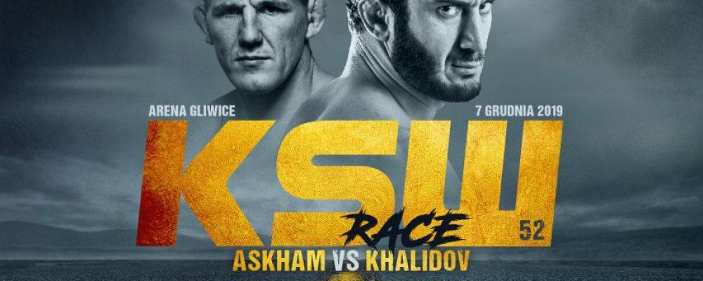 Прямая трансляция KSW 52: Скотт Аскхэм – Мамед Халидов
