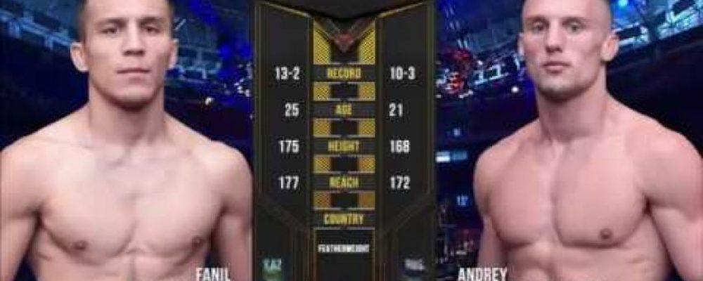 Видео боя Фаниль Рафиков — Андрей Гончаров на ACA 98 — Fight Day