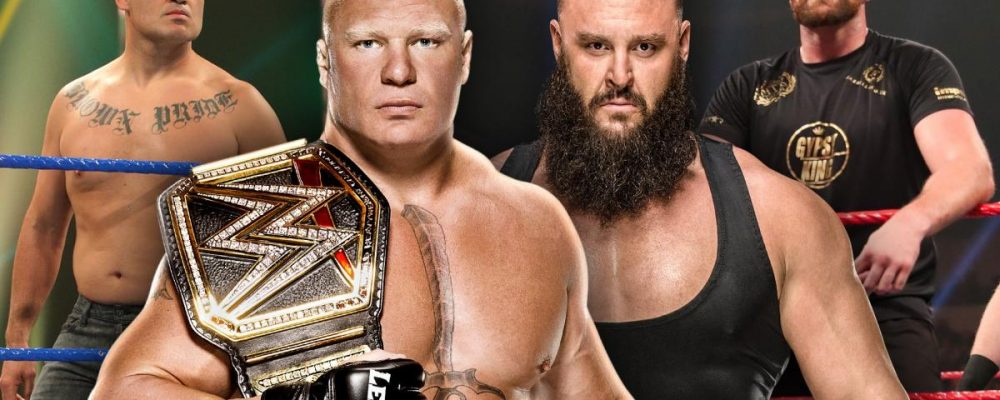 Прямая трансляция WWE Crown Jewel: Тайсон Фьюри — Брон Строумен, Брок Леснар — Кейн Веласкес