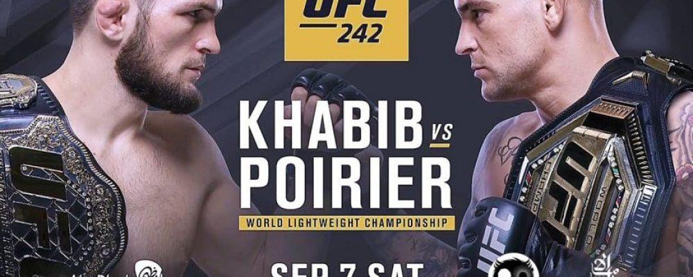 Прямая трансляция UFC 242: Хабиб Нурмагомедов — Дастин Порье