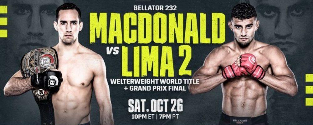 Прямая трансляция Bellator 232: Рори МакДональд — Даглас Лима 2