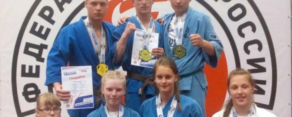 Кудоисты СШ «Витязь» (г. Углич) на турнире по КУДО North Lion 2019