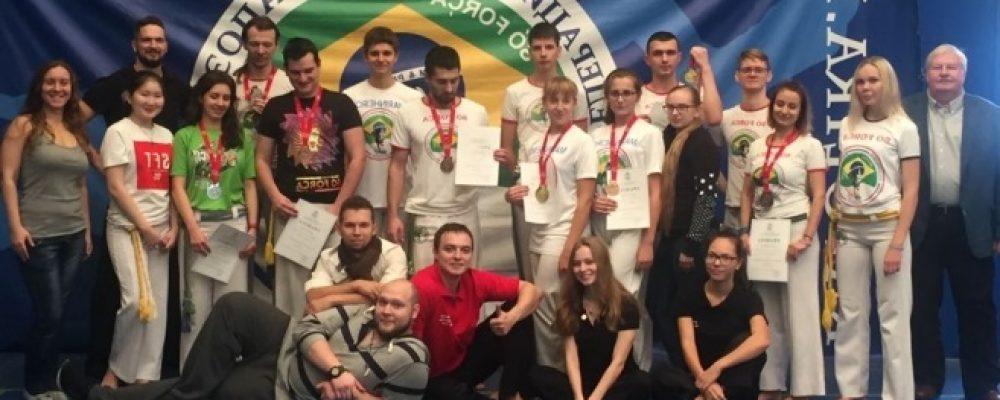 Результаты чемпионата Московской области по капоэйра 2017