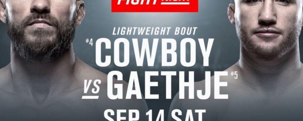 Прямая трансляция UFC on ESPN+ 16: Дональд Серроне — Джастин Гэтжи, Никита Крылов — Гловер Тейшейра