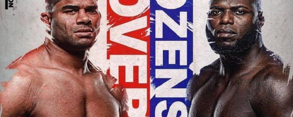 Прямая трансляция UFC on ESPN 7: Алистар Оверим — Жаирзиньо Розенштруйк